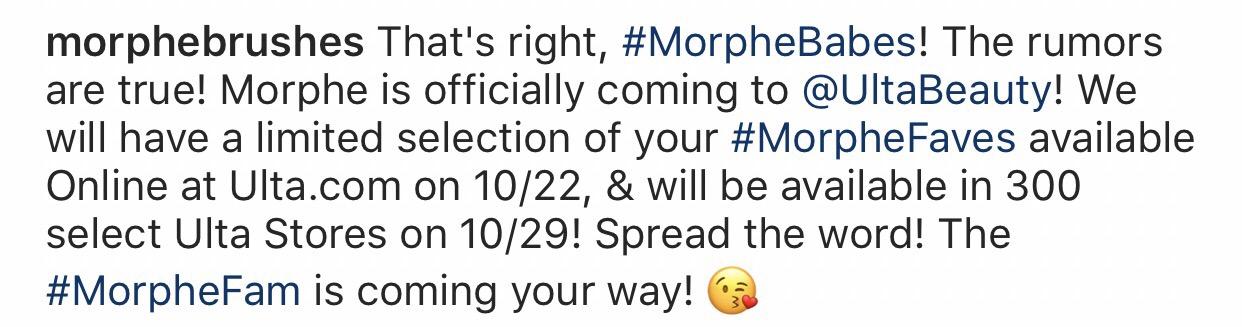 Morphe Is Coming To Ulta Makeup Mimosas I spent $4000 on makeup. makeup mimosas wordpress com